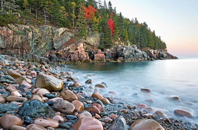 The Rock and the Water #1 - Acadia National Park, Maine, USA