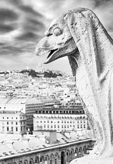 The Creature that ate Sacre Coeur - Paris, France