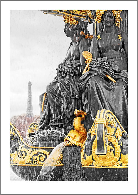 Fountain of Gold - Paris, France