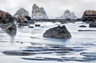 The Guardians - Motukiekie Beach, New Zealand