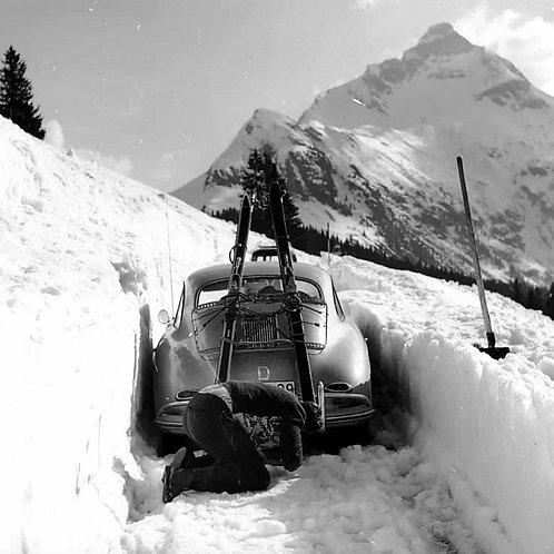 Bild vintage Porsche