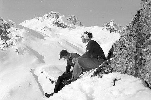 Bild vintage Arlberg II