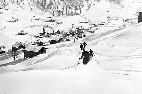 Bild vintage Gaschurn