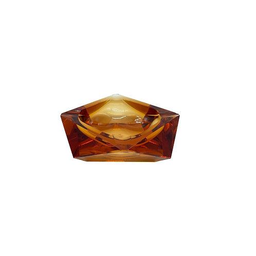 Vintage ashtray apricot