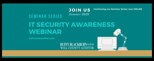 IT Security awareness webinar 2020