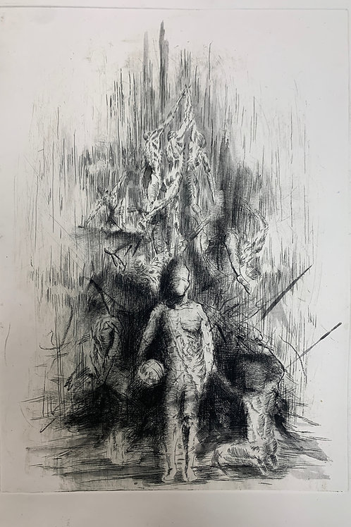 Jacob's Ladder (charcoal)