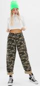 ASOS DESIGN - Bree - Pantalon style militaire motif camouflage