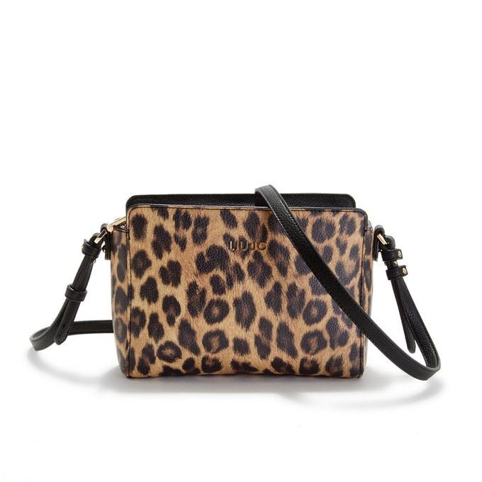 Sac bandoulière leopard