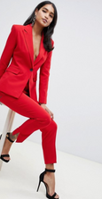 ASOS DESIGN - Costume - Rouge
