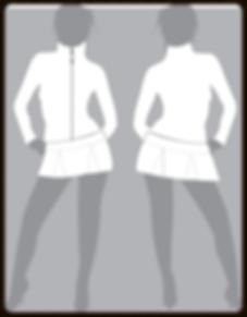 grid girls clothing promotional jacket