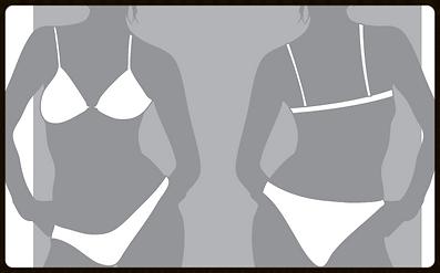 grid girls clothing bespoke promotional bikini