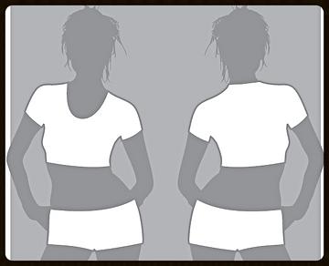 grid girls clothing promotional hotpant croptop