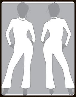 grid girls clothing bespoke promotional catsuit