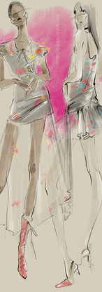 Fashion Illustration by Julija Lubgane.p