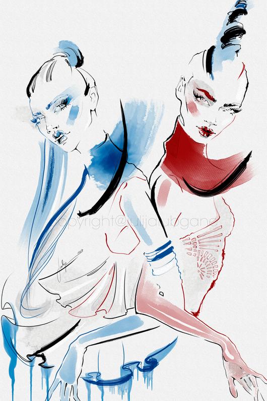 Julija Lubgane Illustrations