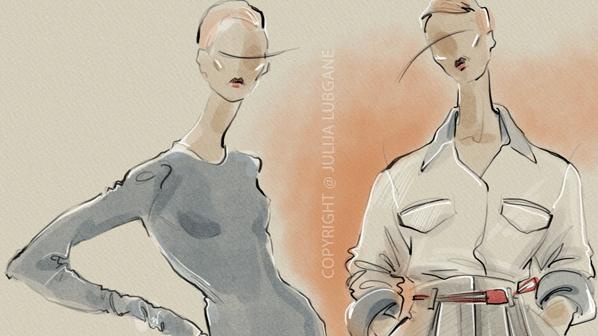 Fashion Illustration by Julija Lubgane
