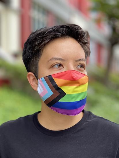 Progress Pride Mask