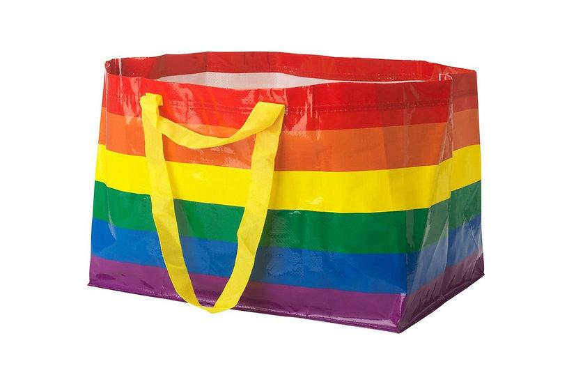 Pride Rainbow IKEA Bag