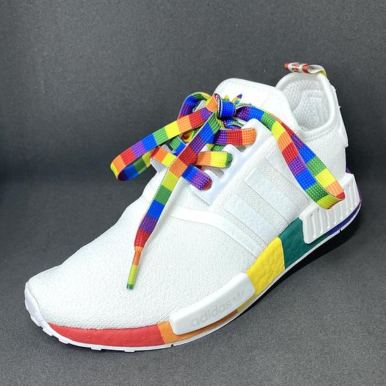 Rainbow Pride Shoelaces (pair)