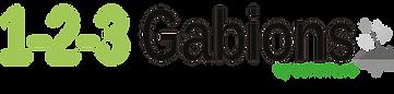 1-2-3 Gabions logo