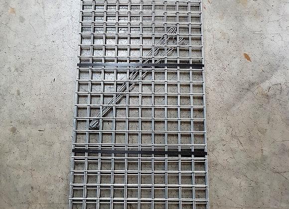 Gabion maille 5x5cm, LxHxP 150x50x50cm