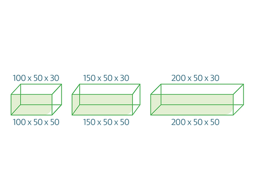 Dimensions gabions en kit