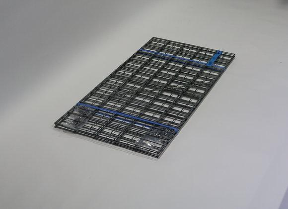 Gabion maille 5x10cm, LxHxP 100x50x50cm