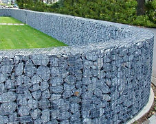 Gabions paysagers