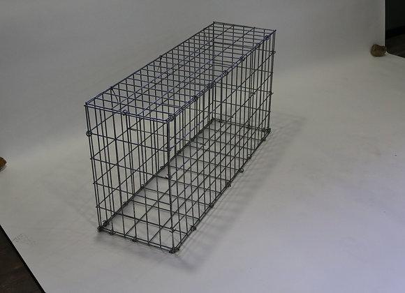 Gabion maille 5x10cm, LxHxP 100x50x30cm