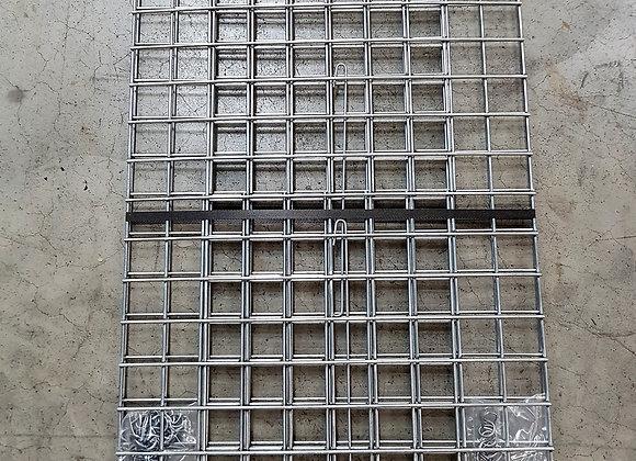 Gabion maille 5x5cm, LxHxP 100x50x30cm