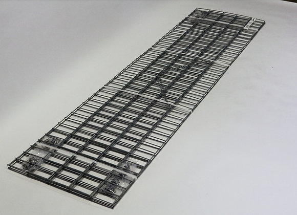 Gabion maille 5x10cm, LxHxP 200x50x30cm