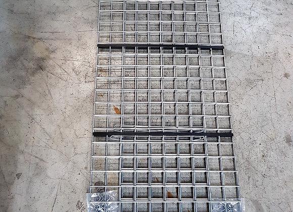Gabion maille 5x5cm, LxHxP 150x50x30cm