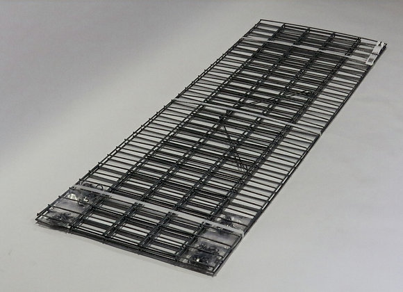 Gabion maille 5x10cm, LxHxP 150x50x30cm