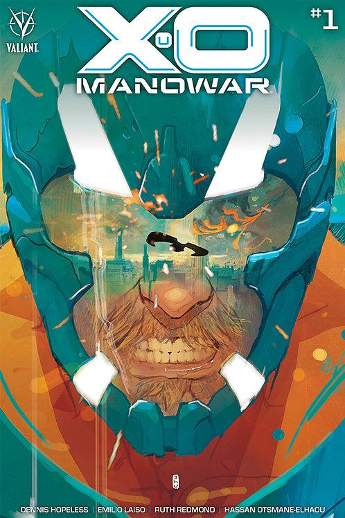 X-O Manowar 01 - Cover A Ward