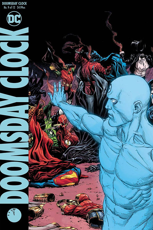 Doomsday Clock 09 - Cover B Gary Frank