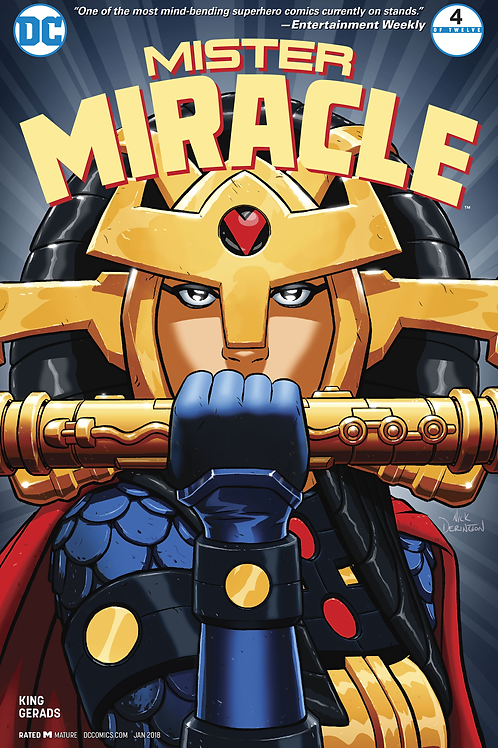 Mister Miracle 04 - Cover A Nick Derington