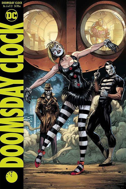 Doomsday Clock 06 - Cover B