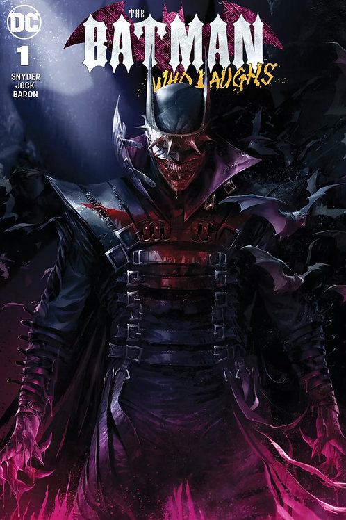The Batman Who Laughs 01 - Cover Mattina