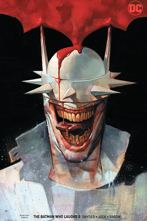 The Batman Who Laughs 05 - Cover B Kalvachev