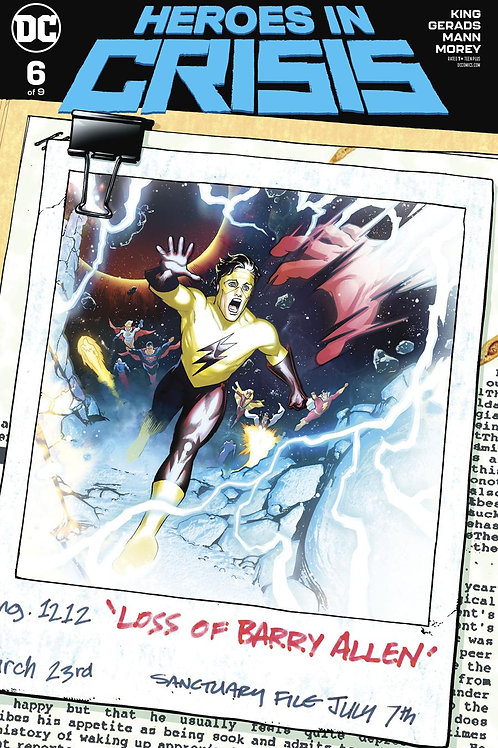 Heroes in Crisis 06 - Cover B Sook