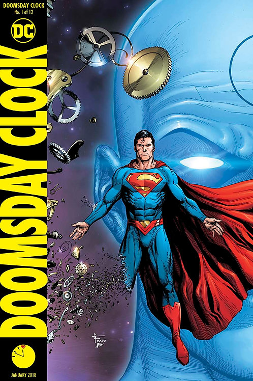 Doomsday Clock 01 - Cover B