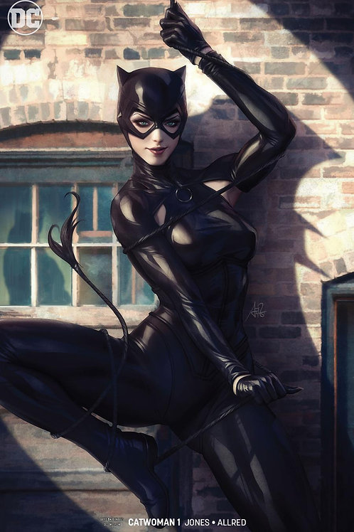 Catwoman 01 - Variant Cover Artgerm
