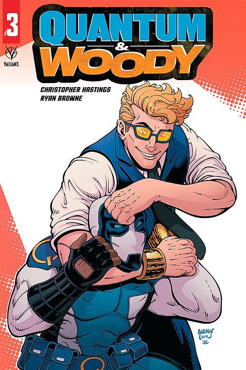 Quantum & Woody 03 - Cover C Robson