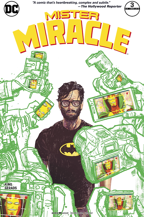 Mister Miracle 03 - Cover B Mitch Gerads