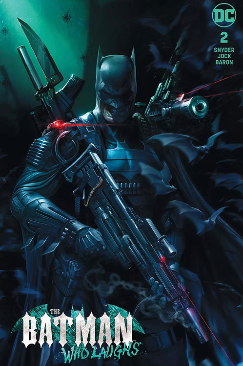 The Batman Who Laughs 02 - Cover Mattina