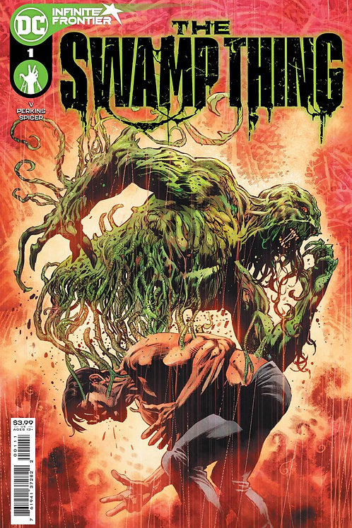 Swamp Thing 1A Mike Perkins