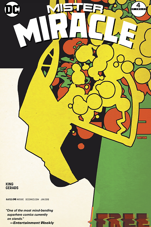 Mister Miracle 04 - Cover B Mitch Gerads