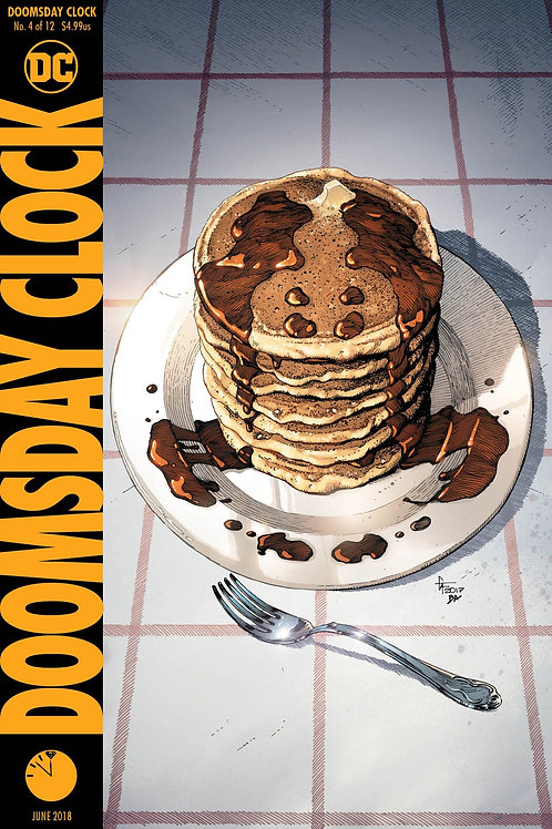 Doomsday Clock 04 - Cover A