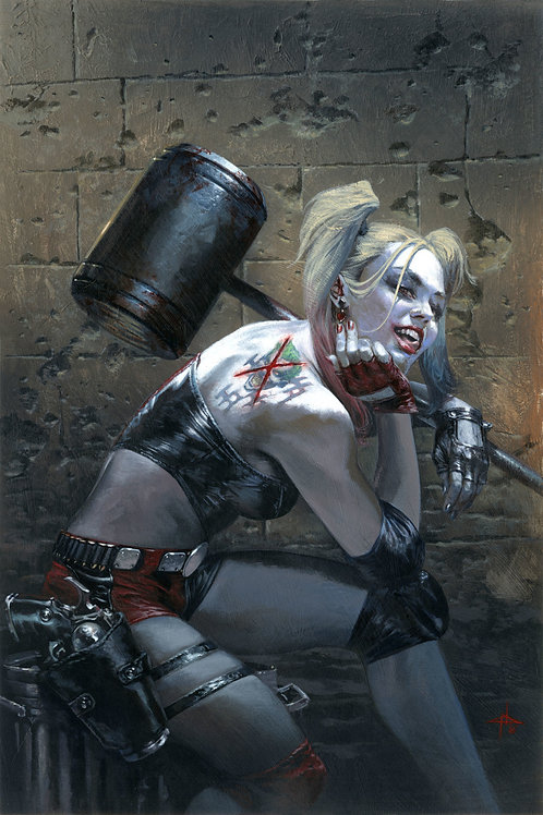 Harley Quinn 01 - Gabriele Dell'Otto Variant