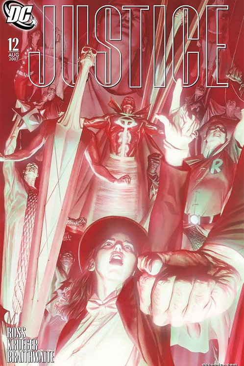JUSTICE 12 - Cover A Alex Ross